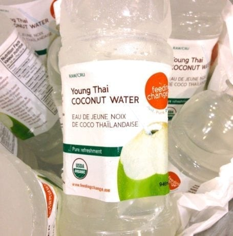 Feeding Change Coconut Water