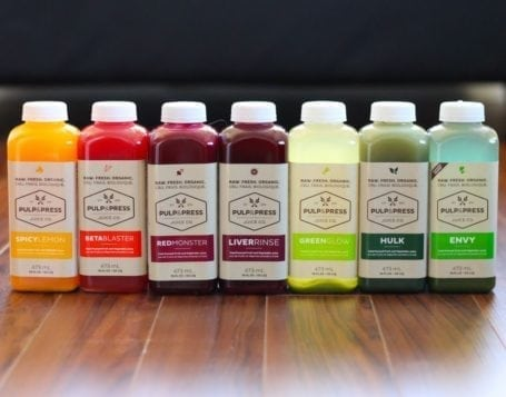 Juices from Pulp and Press