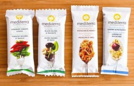 Mediterra Savoury and Sweet Bars