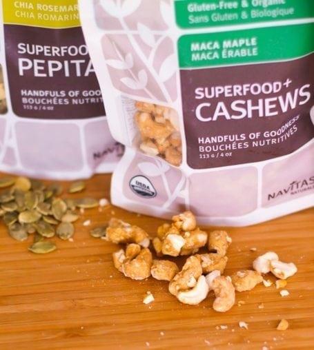 Navitas Naturals Maple Maca Cashews
