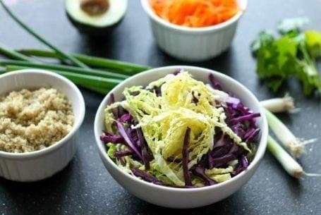 Sweet n Savoury Asian Bowl - Eat Spin Run Repeat - Ingredients