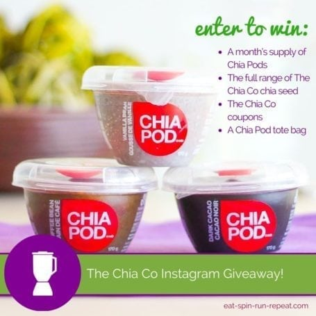 The Chia Co Giveaway - Eat Spin Run Repeat - Instagram