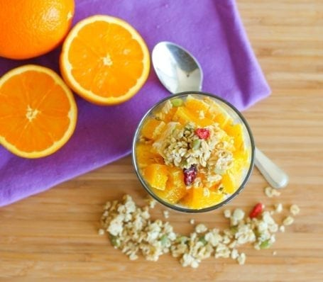 Vanilla Orange Chia Pudding Parfaits - Eat Spin Run Repeat
