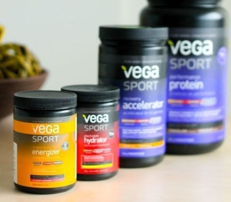 Vega sugar free energizer, electrolyte hydrator, recovery accelerator and performance protein