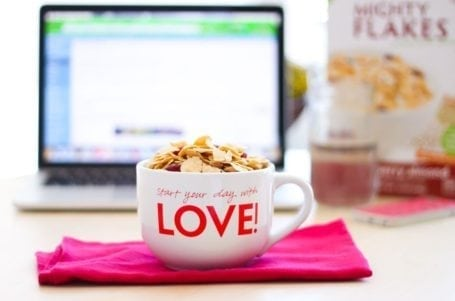 cranberry almond mighty flakes from love grown foods