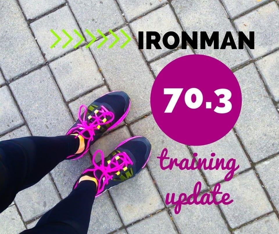 Ironman 70.3 training update 3 - Eat Spin Run Repeat