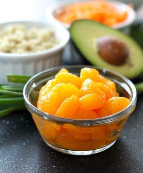 mandarin orange segments