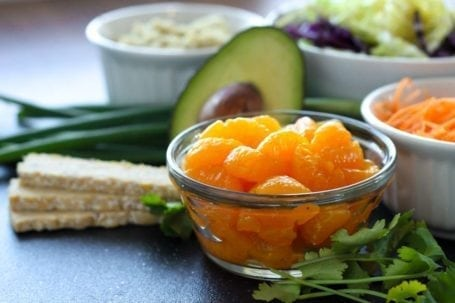 mandarins and tempeh