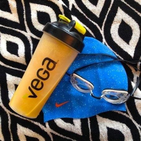 cap, goggle sand vega pre-workout energizer