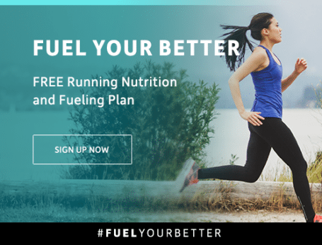 Free running training and nutrition plans from Vega #FuelYourBetter