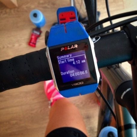 Longest trainer ride - 4 hours
