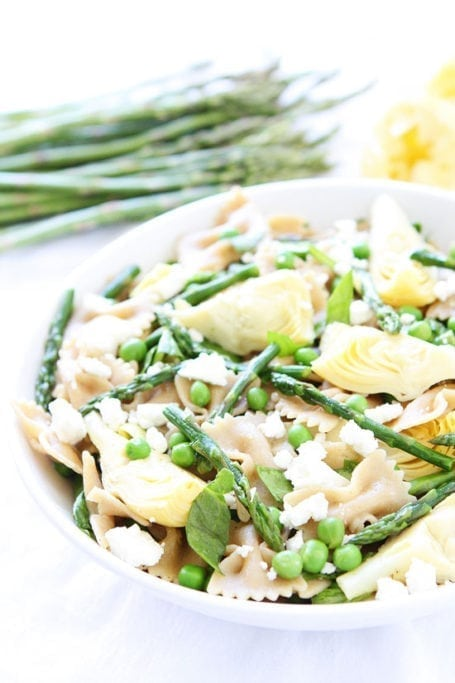 Spring Pasta Salad - Two Peas and Their Pod
