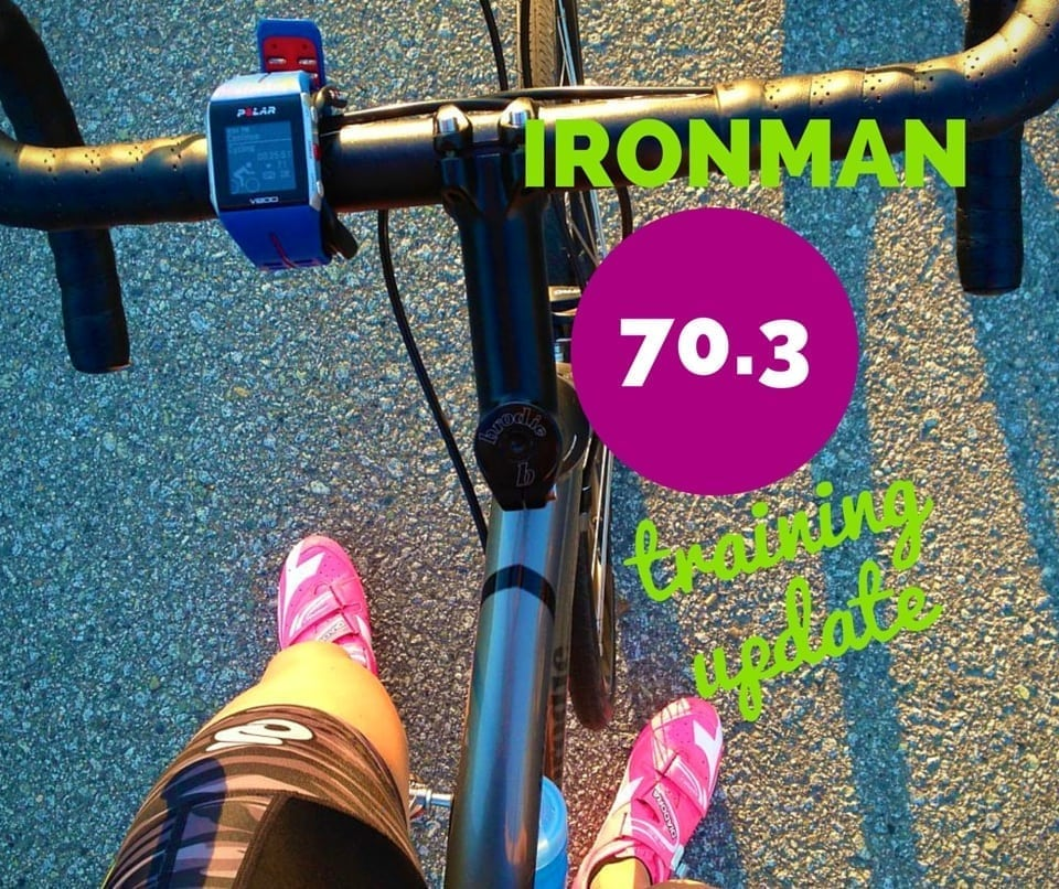 ironman 70.3 training update 4 - Eat Spin Run Repeat
