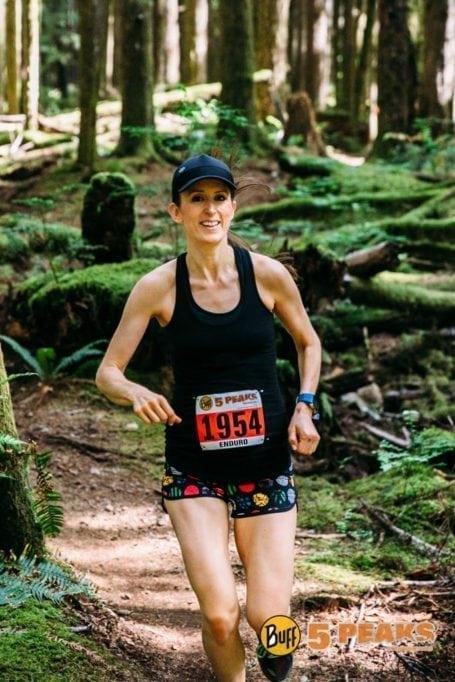 Running 5 Peaks Alice Lake