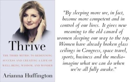Quote from Thrive by Arianna Huffington