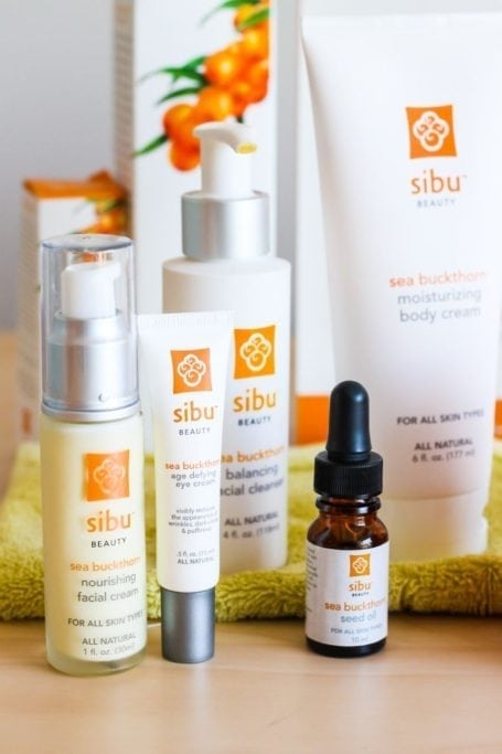 Sibu Products with sea buckthorn