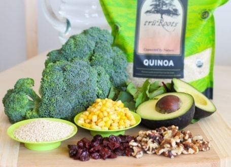 Summertime Quinoa and Greens Salad Recipe - Eat Spin Run Repeat