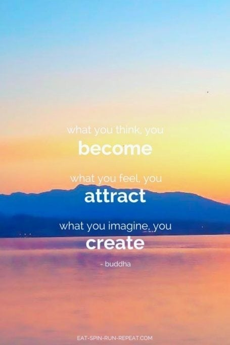 What you think you become, what you feel you attract, what you imagine you create. - Buddha