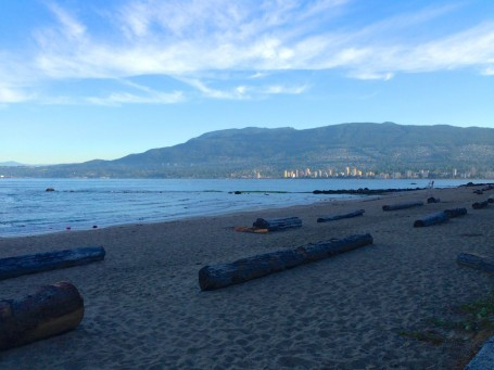 English Bay Beach - seen on my run