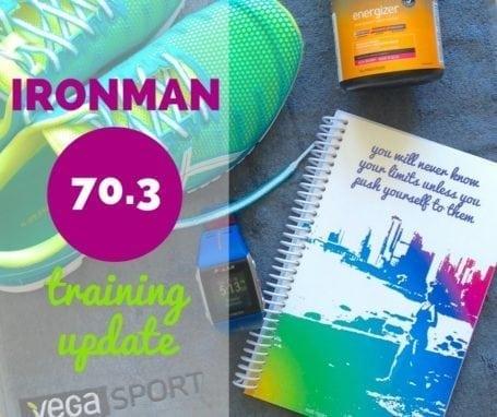 Ironman 70.3 training update 5 - Eat Spin Run Repeat