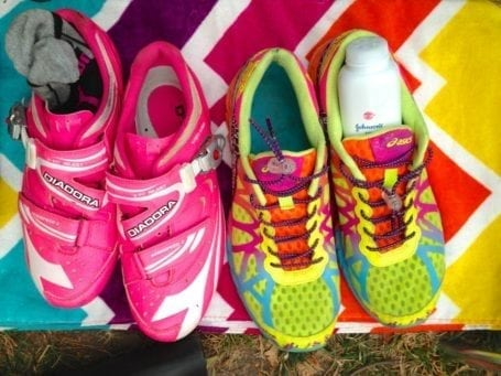 cycle shoes and running shoes