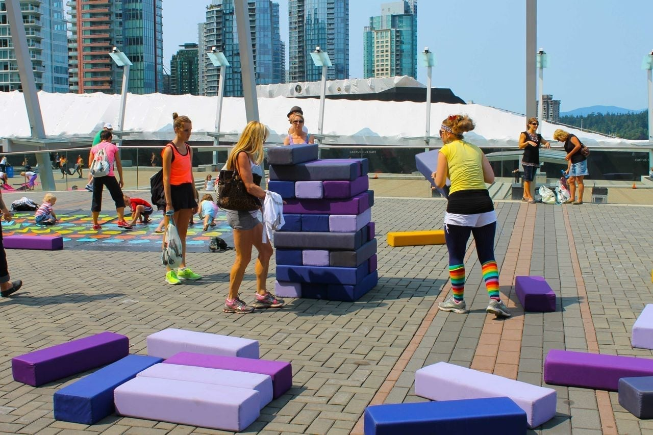 The seawheezers guide to vancouver eat spin run repeat life size jenga at seawheeze solutioingenieria Gallery