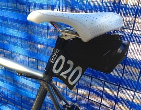 numbered bike