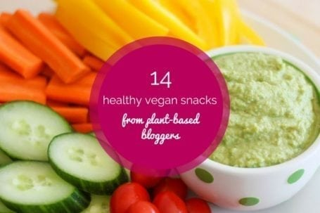 14 healthy vegan snacks for summer from plant-based bloggers - Eat Spin Run Repeat