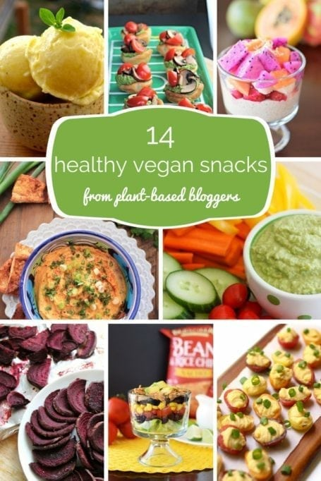 14 healthy vegan snacks from plant-based bloggers - Eat Spin Run Repeat