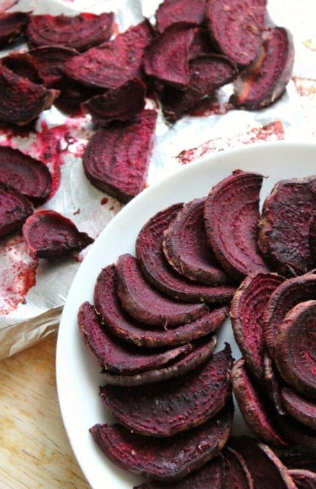BBQ Beet Fries - Strength and Sunshine