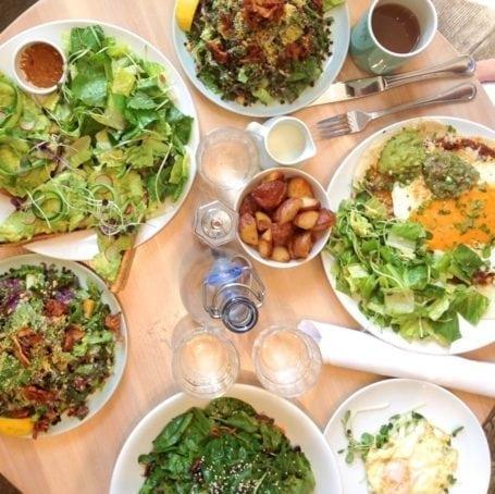 Brunch at Heirloom Vegetarian Restaurant - Vancouver