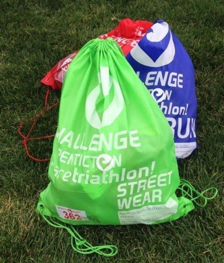 Challenge Penticton gear bags