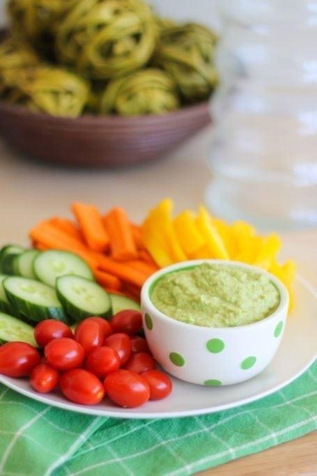 Edamame Hummus - Eat Spin Run Repeat