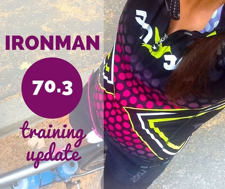 Ironman 70.3 training update 6 - Eat Spin Run Repeat
