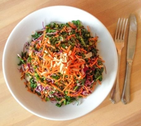 Kale Slaw - Heirloom Vegetarian Restaurant
