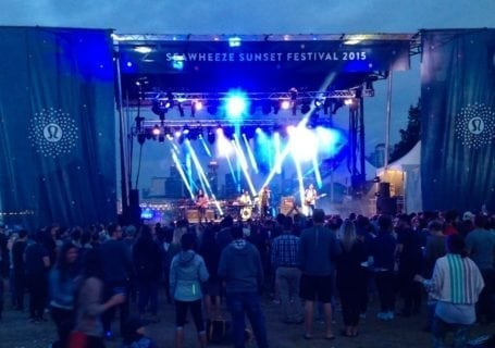 Lululemon Seawheeze Sunset Festival