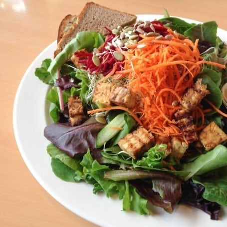 Mega Protein Bowl with Tempeh from Sejuiced Kitsilano