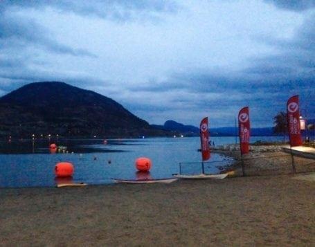 Okanagan Lake before Challenge Penticton 2015