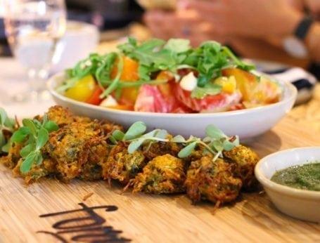 Vegetable pakoras - Forage Vancouver