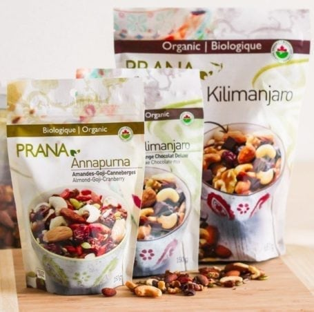 Prana trail mixes