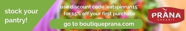 Stock your pantry - Prana Discount Code