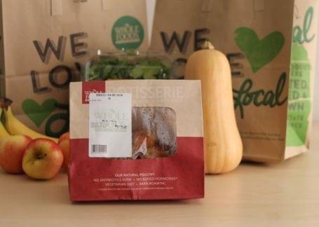 Whole Foods rotisserie chicken