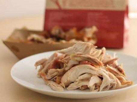 Whole Foods shredded rotisserie chicken