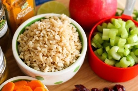 rice and celery