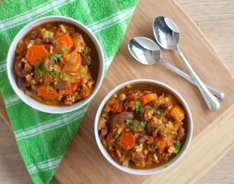 Clean Eating Pumpkin Chili - Eat Spin Run Repeat