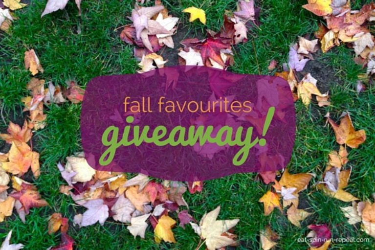 Fall Favourites Giveaway - Eat Spin Run Repeat