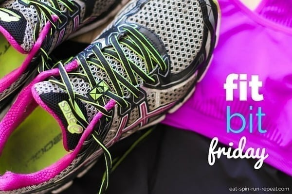 Fit Bit Friday - Eat Spin Run Repeat - September 2015