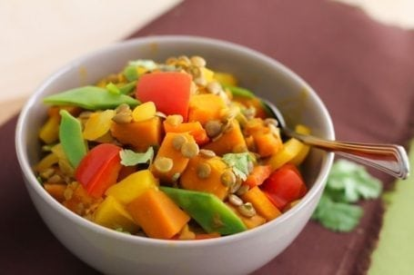 Lentil and Kabocha Squash Curry - Eat Spin Run Repeat