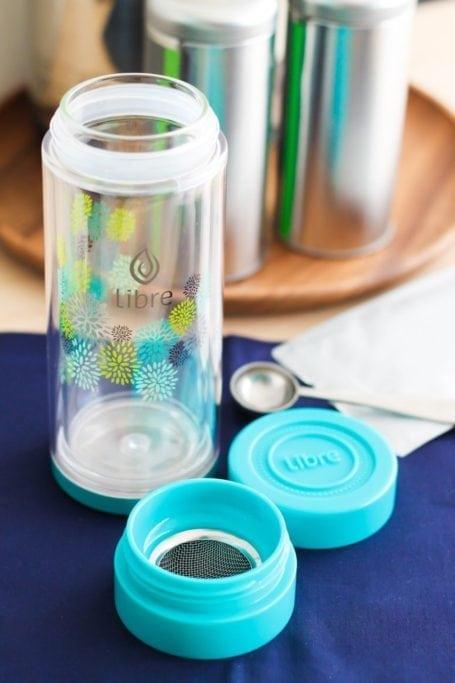 Libre Tea Starburst Glass - Eat Spin Run Repeat