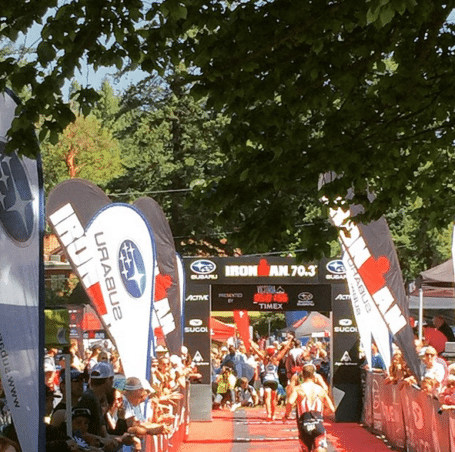 Steph Corker at Ironman Canada 2015